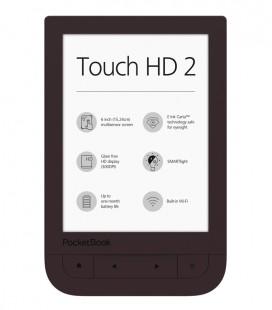 PocketBook 631(2) Touch HD 2, tmavě hnědý