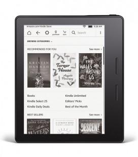 Amazon Kindle Oasis, červené pouzdro, bez reklam