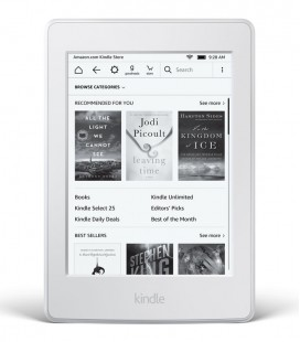 Amazon Kindle Paperwhite 3 (2016) bílý, bez reklam